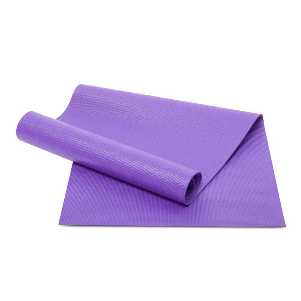 Thảm Yoga Màu Tím Êm Ái 10mm