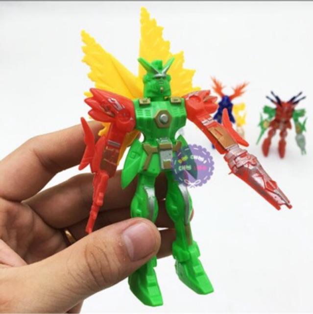 Đồ chơi 4 siêu nhân GUNDAM mini