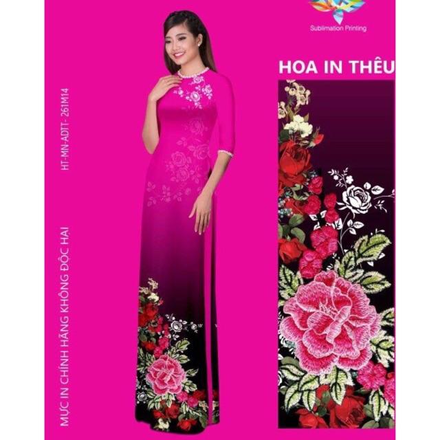 Vải áo dài in hoa 3D - 3029539 , 419541979 , 322_419541979 , 240000 , Vai-ao-dai-in-hoa-3D-322_419541979 , shopee.vn , Vải áo dài in hoa 3D