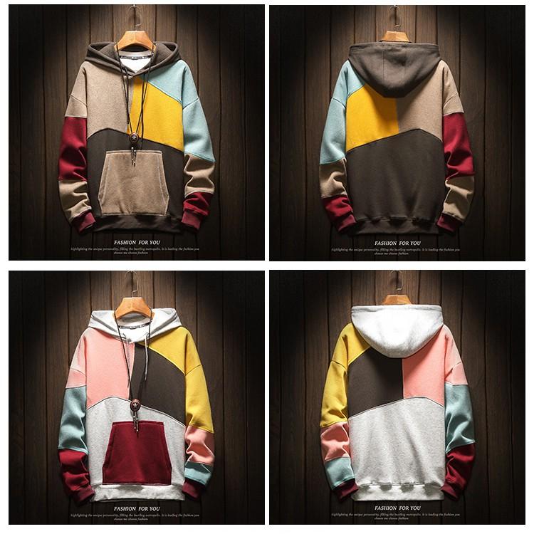 áo hoodie, áo khoác nam nữ bộ sưu tập thời trang thu đông