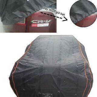 Yêu ThíchÁo bạt phủ trùm xe hơi ô tô 4-5 chỗ loại tốt che mưa nắng chống bạc màu xe - BatCar-5C-Silver