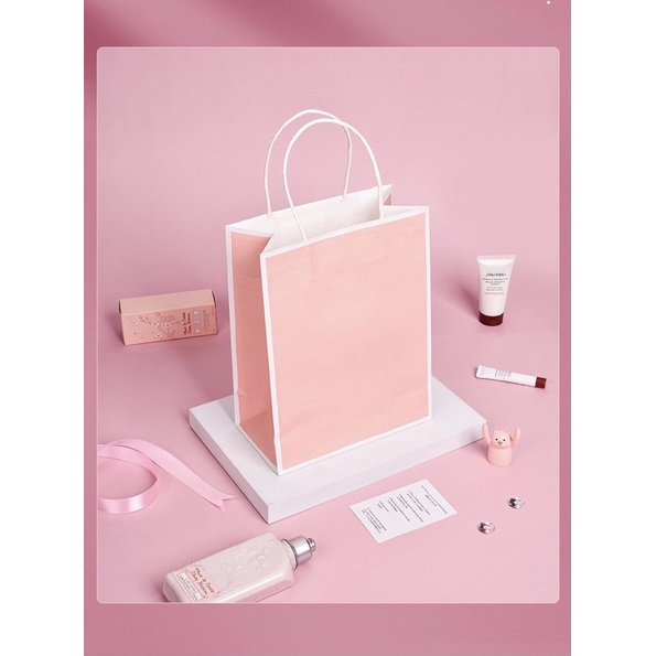 Túi đựng quà 21x27x11cm màu hồng