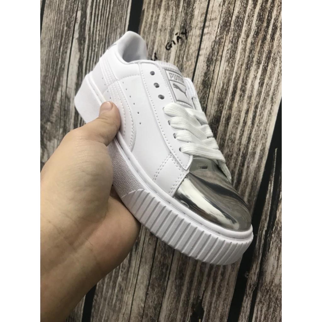 giày puma mũi bạc - 3110250 , 1041953344 , 322_1041953344 , 650000 , giay-puma-mui-bac-322_1041953344 , shopee.vn , giày puma mũi bạc