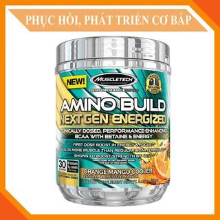 BCAA Amino Build Next gen hương Orange Mango của Muscle Tech hộp 30 lần dùng hỗ trợ phục hồi cơ, giảm cân. thumbnail