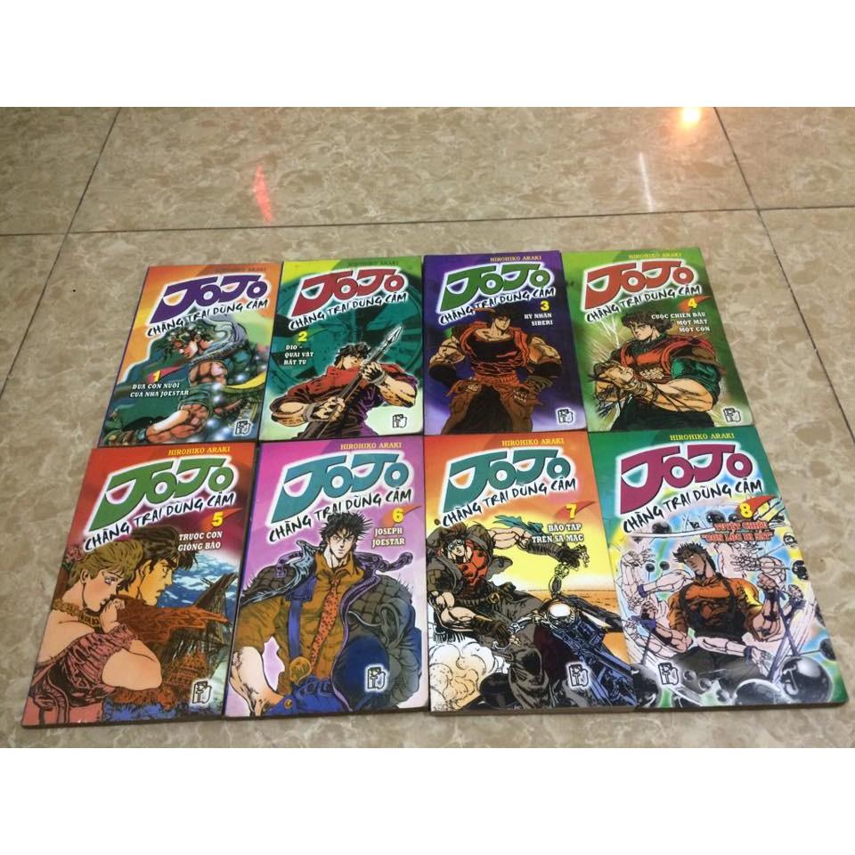 Truyện tranh Jojo - Chàng trai dũng cảm - 2600585 , 801563159 , 322_801563159 , 120000 , Truyen-tranh-Jojo-Chang-trai-dung-cam-322_801563159 , shopee.vn , Truyện tranh Jojo - Chàng trai dũng cảm