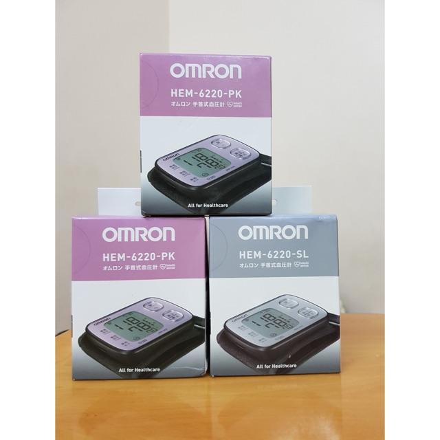 Máy đo huyết áp cổ tay tự động Omron HEM-6220 Nhật Bản - 2933607 , 348254995 , 322_348254995 , 265000 , May-do-huyet-ap-co-tay-tu-dong-Omron-HEM-6220-Nhat-Ban-322_348254995 , shopee.vn , Máy đo huyết áp cổ tay tự động Omron HEM-6220 Nhật Bản