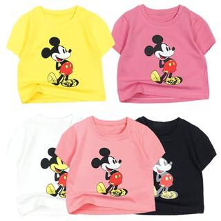 Áo thun bé gái Croptop Size Đại cổ tròn cho bé từ 22 kg đến 34 kg, cho bé 7 tuổi đến 14 tuổi chất shop đẹp 05319-05328