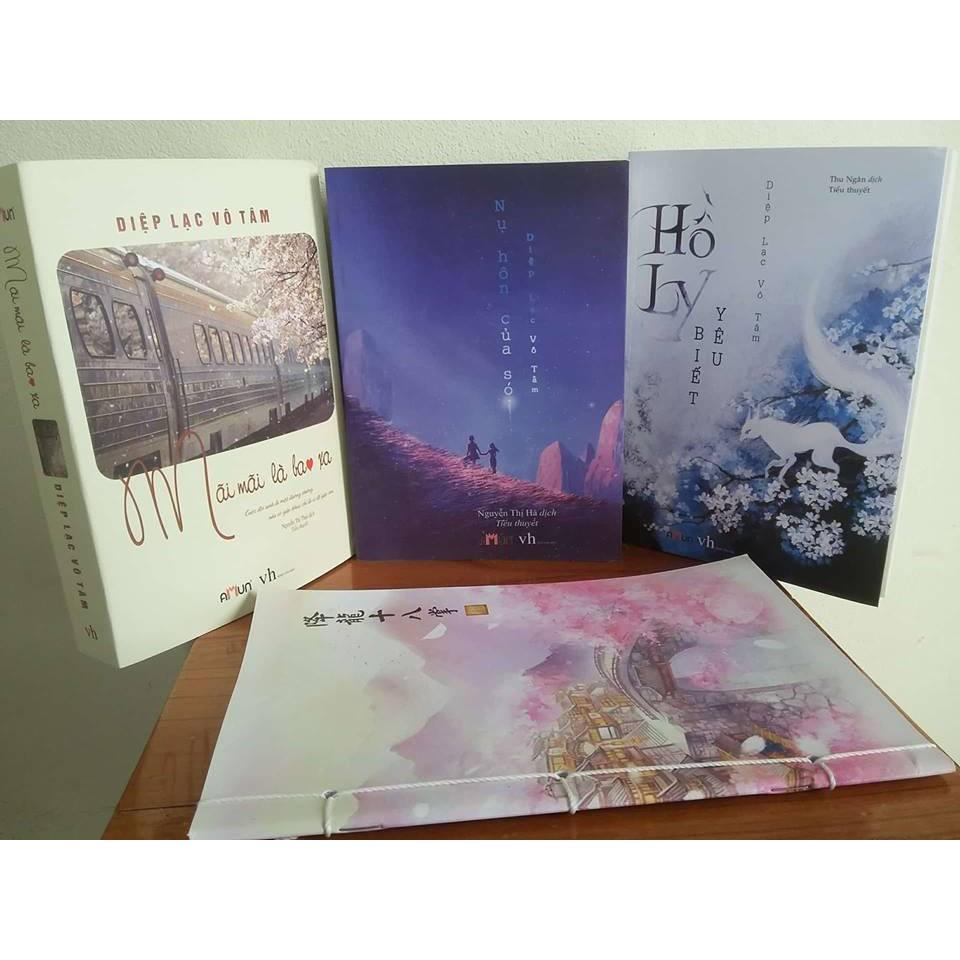 Sách - Combo 3 Cuốn: Mãi Mãi + Nụ Hôn Của Sói + Hồ Ly Biết Yêu (Tặng 1 Vở Cổ Trang)
