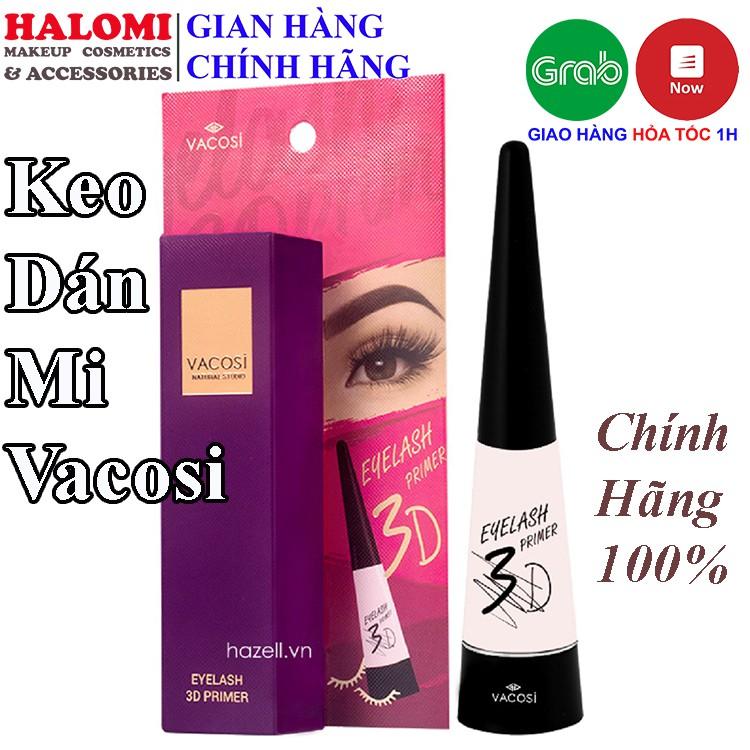 Keo dán mi Vacosi chính hãng trong suốt không lộ chuyên dùng cho makeup HALOMI