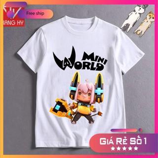 SALE- áo thun mini world nhân vật mecha meow F010 – ADT Store / uy tín chât lượng