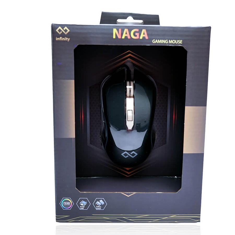[Mã SKAMA07 giảm 8% đơn 250k]Chuột Gaming Inifnity Naga – Avago 3360 A-RGB 12.000 DPI Progaming Mouse