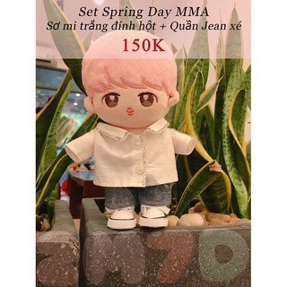 Set Outfit Spring Day MMA – (Không kèm Doll ) BTS – Outfit Doll 20cm