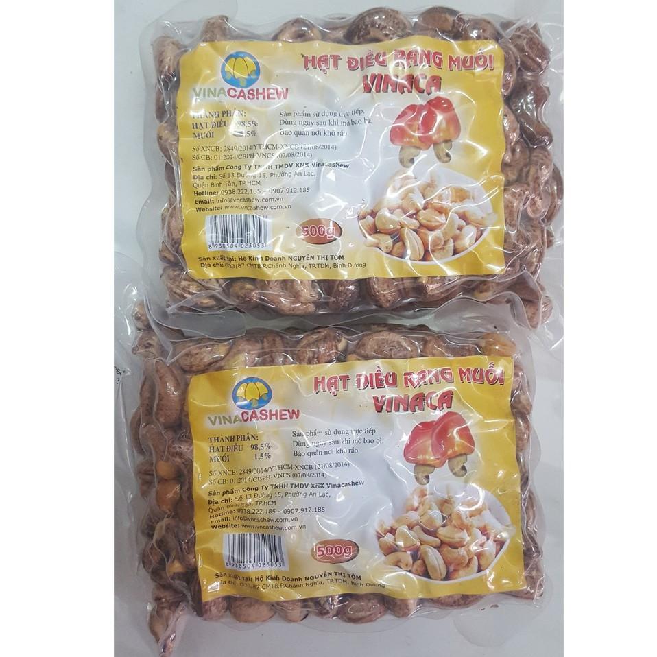 [Tặng thẻ cào ĐT 10k] 1kg hạt điều rang muối Bình Phước [Tặng thẻ cào ĐT 10k] 1kg hạt điều rang muối Bình Phước