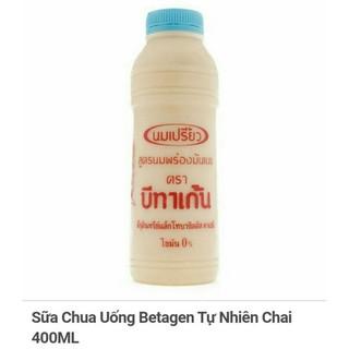 Sữa Chua Uống Betagen Tự Nhiên Chai400ML