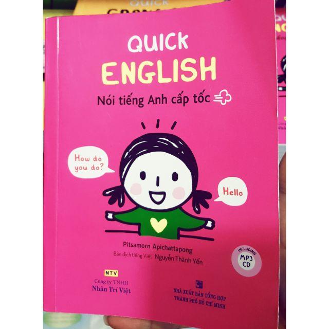 Quick English Học tiếng anh cấp tốc kiểu dân chơi