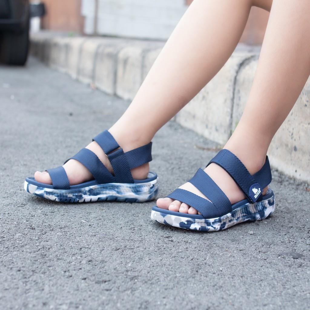 Giày sandal nữ Facota V1 Sport HA14 chính hãng sandal nữ quai dù sandal nữ đi học