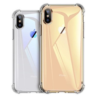 I106 Shockproof Soft Bumper Transparent Cover Case iPhone5 6 7 X 8 P XS MAX XR