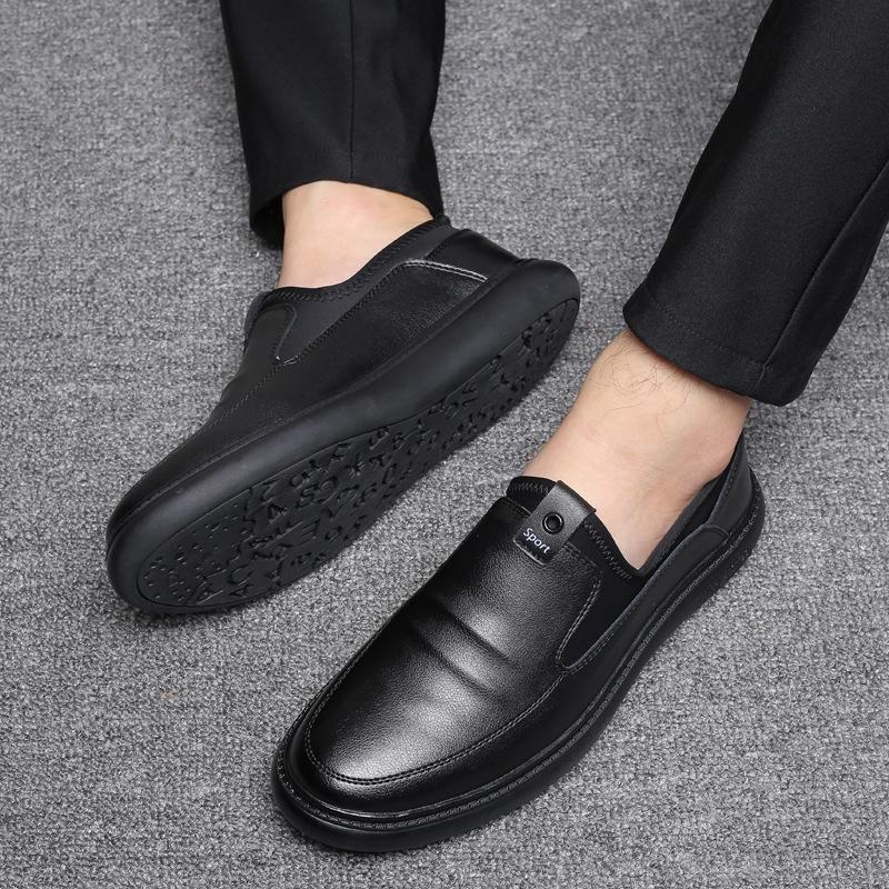 Giày da nam da bò 2019 bộ kinh doanh mới của giày đế bằng giày nam phiên bản Hàn Quốc của quần lửng đế bằng thoáng khí - 14950096 , 2755338391 , 322_2755338391 , 1379604 , Giay-da-nam-da-bo-2019-bo-kinh-doanh-moi-cua-giay-de-bang-giay-nam-phien-ban-Han-Quoc-cua-quan-lung-de-bang-thoang-khi-322_2755338391 , shopee.vn , Giày da nam da bò 2019 bộ kinh doanh mới của giày đ