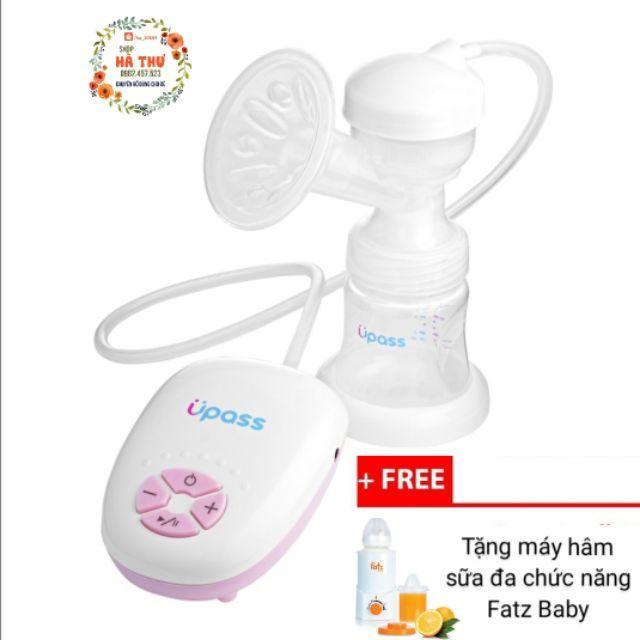 Máy hút sữa điện đơn Upass UP1602 tặng máy hâm sữa đa chức năng Fatzbaby - 2664235 , 1257146794 , 322_1257146794 , 1515000 , May-hut-sua-dien-don-Upass-UP1602-tang-may-ham-sua-da-chuc-nang-Fatzbaby-322_1257146794 , shopee.vn , Máy hút sữa điện đơn Upass UP1602 tặng máy hâm sữa đa chức năng Fatzbaby