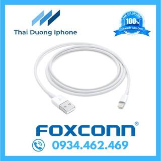 Cáp sạc Airpods iPhone iPad Lightning FOXCONN 5V-1A Sạc nhanh Siêu bền thumbnail