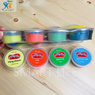 Combo 4 hộp bột nặn các màu cho bé hàng Việt Nam an toàn
