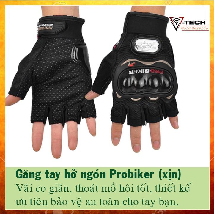 Găng tay hở ngón, chống nắng, xe máy, phượt, đa năng Probiker (xịn) - 2929606 , 1133432720 , 322_1133432720 , 120000 , Gang-tay-ho-ngon-chong-nang-xe-may-phuot-da-nang-Probiker-xin-322_1133432720 , shopee.vn , Găng tay hở ngón, chống nắng, xe máy, phượt, đa năng Probiker (xịn)