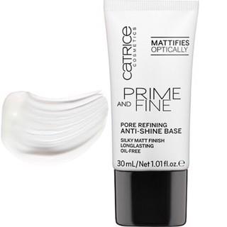 Kem lót Catrice Prime & Fine Pore Refining Anti Shine Base Oil – mịn lì ,se khít lỗ chân lông, kiềm dầu cực tốt