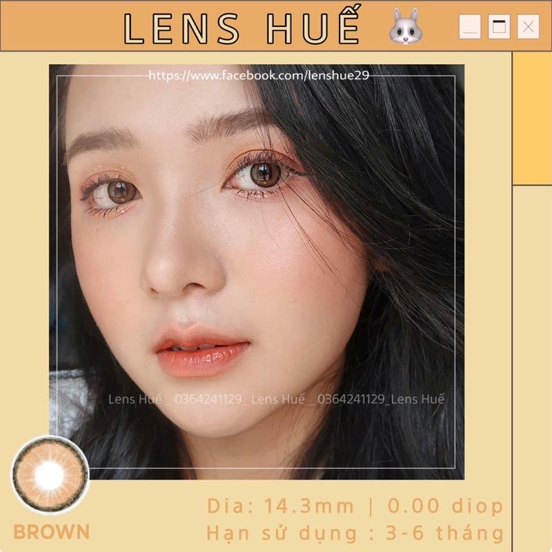 ( HÀNG CÓ CẬN ) inbox độ cận – mẫu tự nhiên trong veo viền đe giãn nhỏ tone Hàn Quốc ( kính áp tròng ) – Lens Huế 🐰