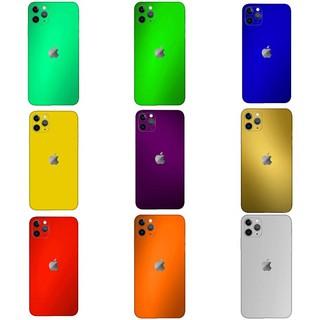 Miếng Dán Decal Xước Đổi Màu Chống Trầy iPhone 11 Pro Max, 11, 11 Pro