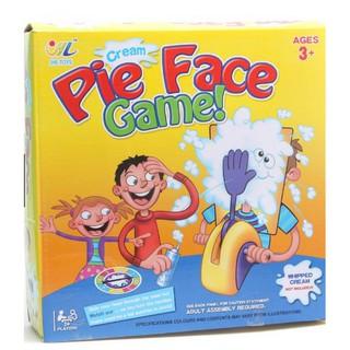 Trò chơi Pie Face Boardgame vui nhộn