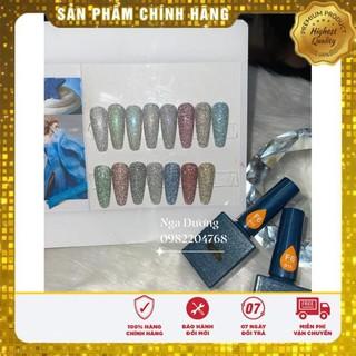 Sơn gel nhũ flats Vendeeni ( chính hãng ) 15ml siêu sáng sơn móng