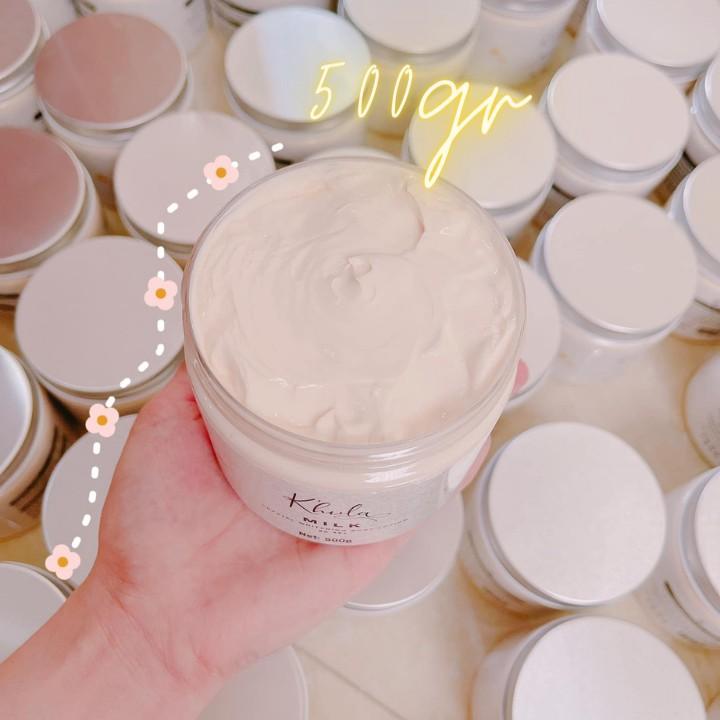 [HỘP 500GR] Kem body siêu trắng Body Milk dòng kem body cao cấp dưỡng trắng da toàn thân