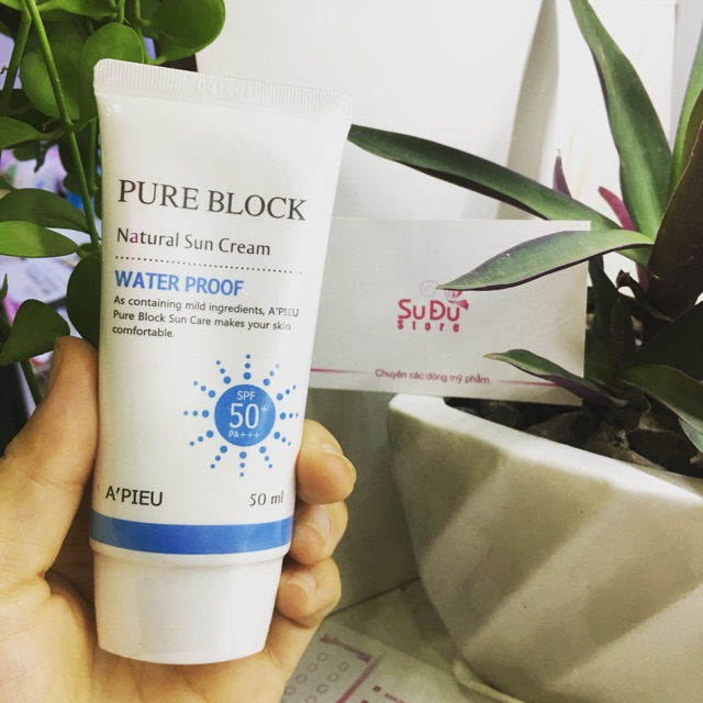 Kem chống nắng pure block A