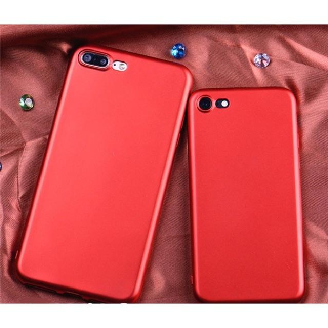 Combo 3 ốp lưng đỏ nhung ip6+