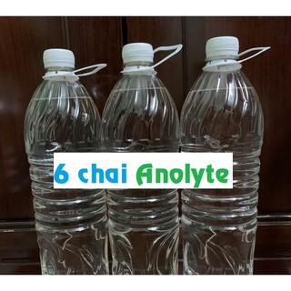 Dung dịch Anolyte (Nước A) – 6 chai 1.5lit