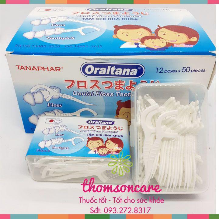 Chỉ nha khoa Oraltana - Chỉ kẽ răng - hàng Việt Nam chất lượng cao