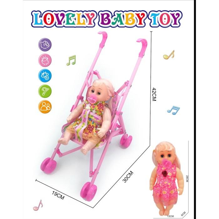 Búp bê đồ chơi dễ thương cho bé