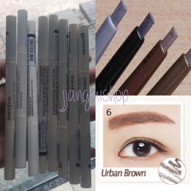 Chì kẻ chân mày Innisfree Auto Eyebrown Pencil màu 06