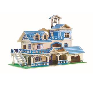 Mô hình gỗ nhà nghỉ mát