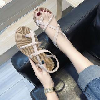 Giày sandal hở ngón chống trượt đi biển mùa hè cho nữ