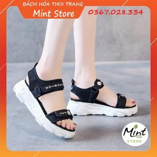 Sandal Nữ Hoa Cúc Đế Cao 3 cm Đi Học, Đi Chơi Hot trend G 128