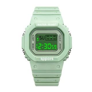 Đồng hồ thể thao nữ SIÊU HOT dây silicon cực đẹp S009 đồng hồ điện tử thumbnail