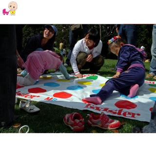 ❦Ready Stock❦☞ Twister Moves Game Play Mat Twisting Body Interactive Outdoor Sports Toys