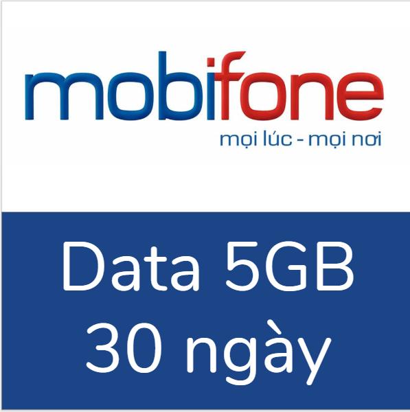 Gói data 3G/4G Mobifone 5GB, 30 ngày