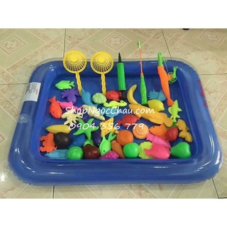 Bộ bể câu cá nam châm cho bé