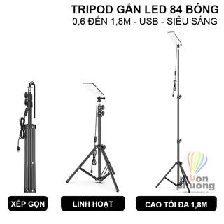 Giá 3 chân tripod gắn đèn LED USB 5V chiếu sáng ngoài trời cắm trại dã ngoại – MUÔN PHƯƠNG SHOP