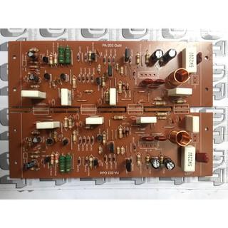 Board Công suất amply 8 sò dùng transistor thumbnail