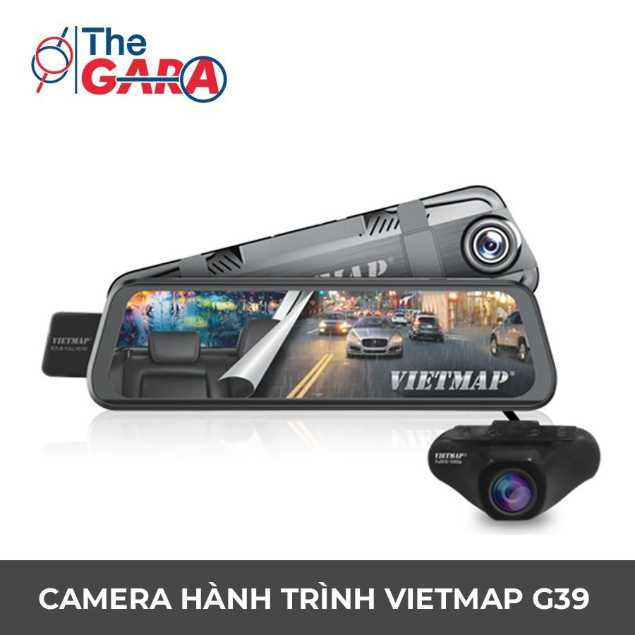 Camera Hành Trình VietMap G39 + Thẻ nhớ 32GB   Full HD 1080p, Wifi, GPS,  cảnh báo tốc độ