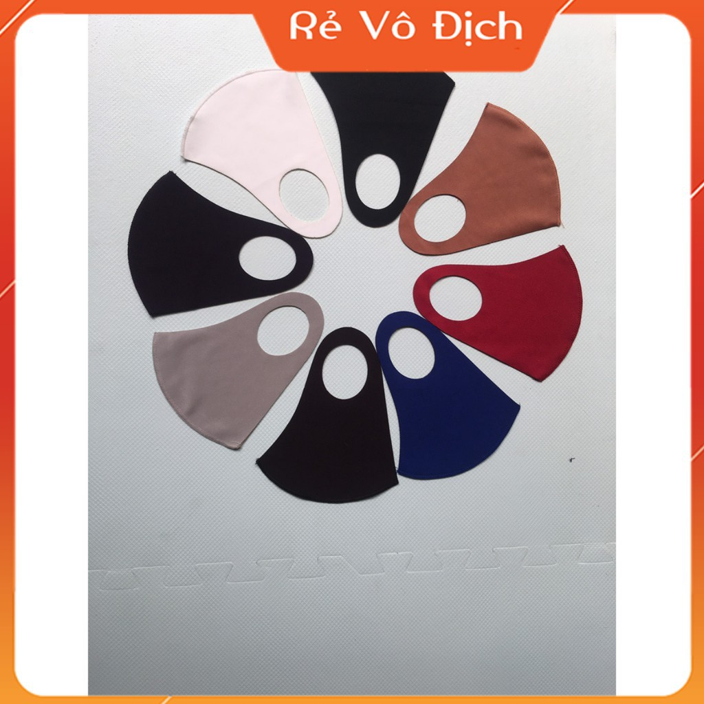 [Combo 40 chiếc] Khẩu trang (đầy kho)vải SU 3D chất lượng , phong cách hàn quốc giặt và tái sử dụng nhiều lần !