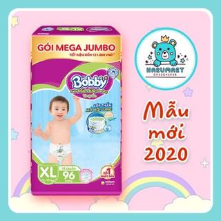 [MẪU 2020] Tã bỉm quần Bobby Mega Jumbo M120 M124 L111 L120 XL102 XL96 XXL93 XXL88 lưng thấm mồ hôi thumbnail